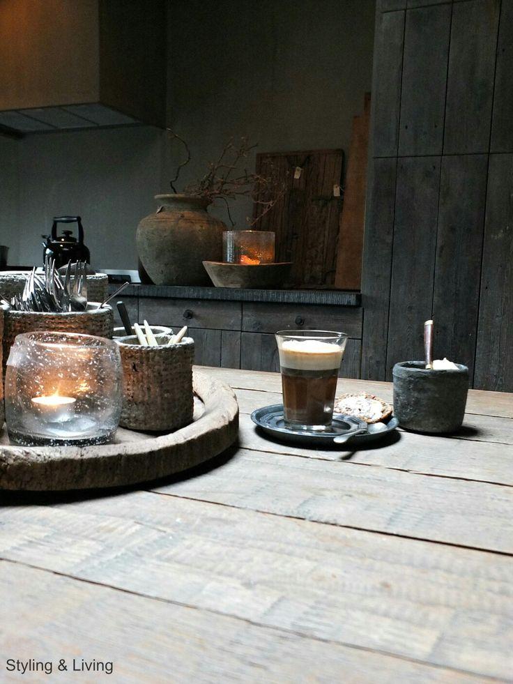 Landelijke Keuken Sober : 597 best images about Rustic kitchen on Pinterest