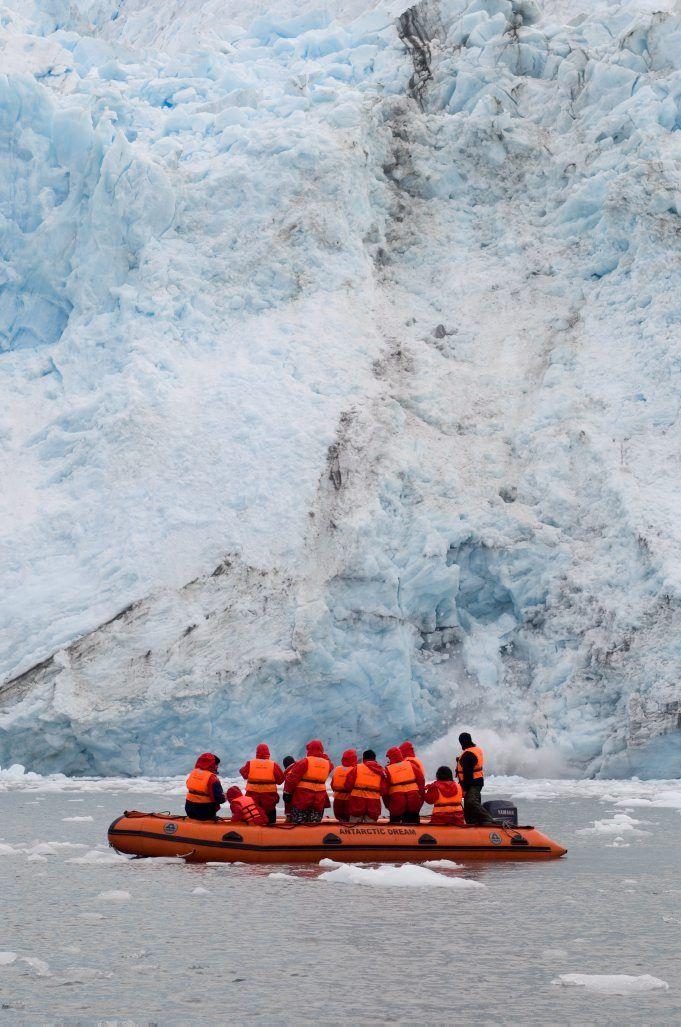 Garibaldi Glacier, Darwin National Park, Tierra del Fuego, Patagonia, Chile, South America | photo by Robert Harding