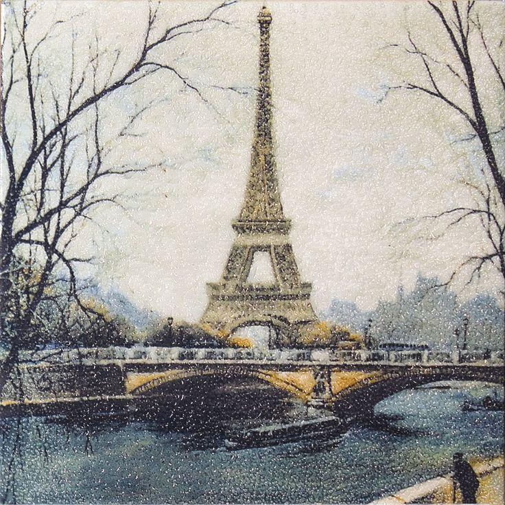 Эйфелева башня декор DT04/5009 Размер: 20*20 - Париж