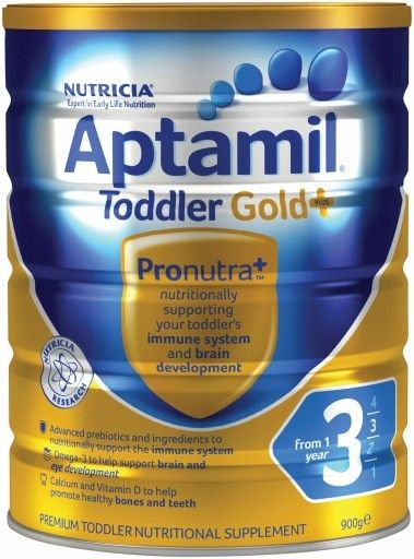 Aptamil Gold Plus 3 Toddler From 1 Year 900g
