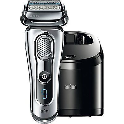 Braun Series 9 9090cc Electric Foil Shaver for Men with Cleaning Center Elect...