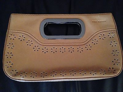 Ted Baker Camel Tan Brown Clutch Bag Handbag