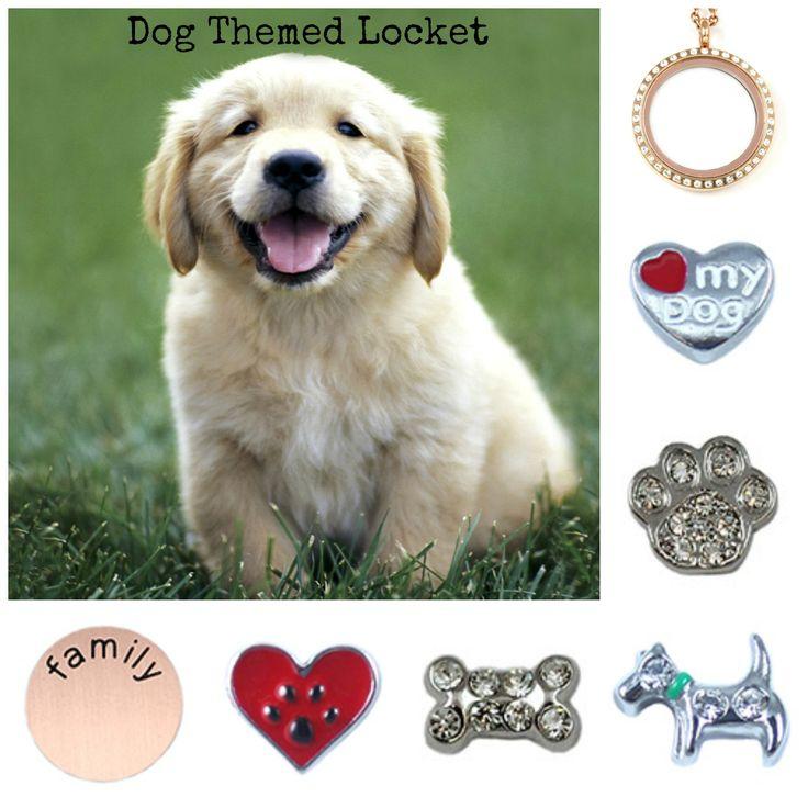 Puppy Dog - South Hill Designs Locket