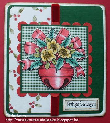 Beccy's Place - Christmas Bells clear stamp set