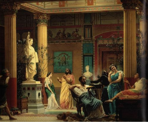 The Fluteplayer By Gustave Boulanger