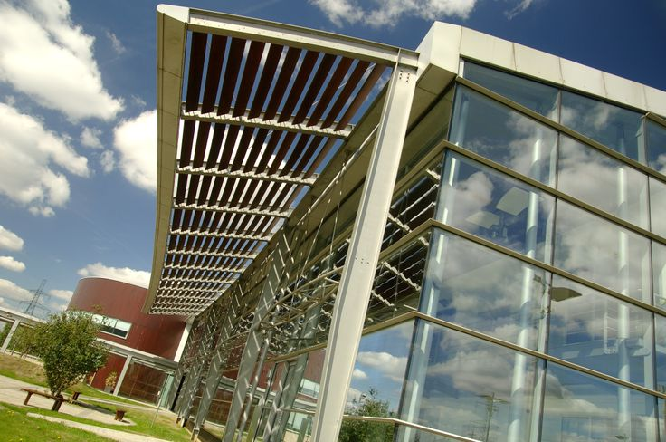 Outside building image of CEME Conference Centre - amazing flexible meeting space and futuristic #POD theatre which seats 120 people