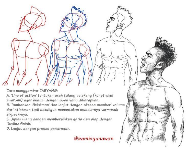 #masbambi how to draw #koreanboyband #taeyang #taeyangabs #bigbang #youngbae #태양 #빅방 #yb #dongyeongbae #동영배 #kpop #kpopboyband #koreanboyband #ilovekpop #asianmuscles #asianmuscle #asianhunks #asianhunk #asianmale  #gambar #sketsa #sketch #digitalart #digital #doodle #doodling #drawing #muscle #muscledrawing #karyamasbambi