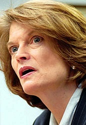 """""""If you don't feel this is an attack, you need to go home and talk to your wife and your daughters."""" -- Lisa Murkowski, Republican, on the GOP attack on women's healthcare"""