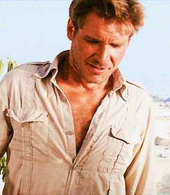 (Here it is again, in case you missed it.) | An Ode To Hot Young Harrison Ford