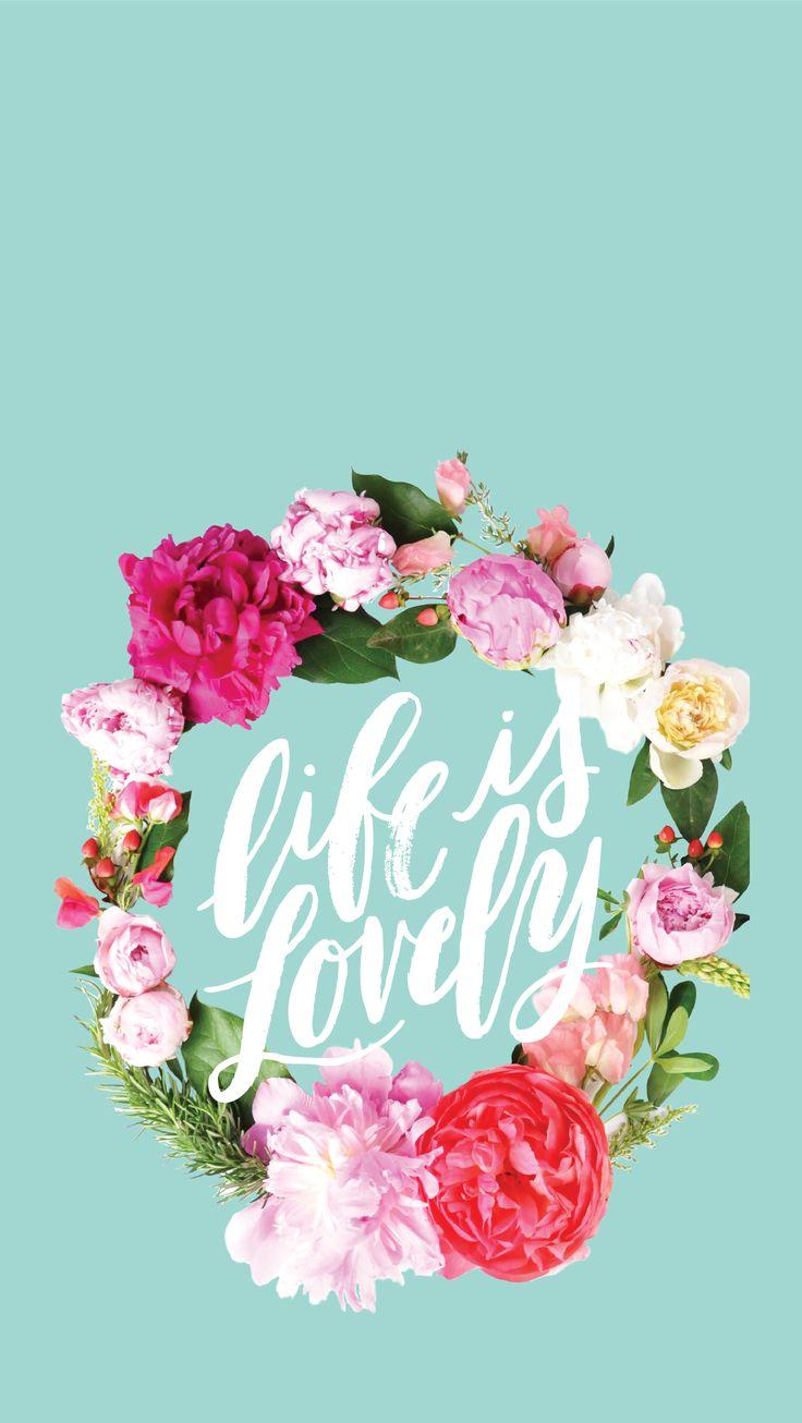 Best 25 pretty backgrounds ideas on pinterest flower - Flower wallpaper for your phone ...