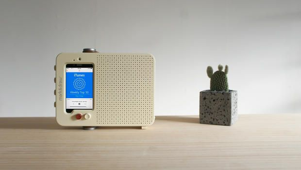 Turn Your Old iPhone Into A New, Braun-Inspired Radio