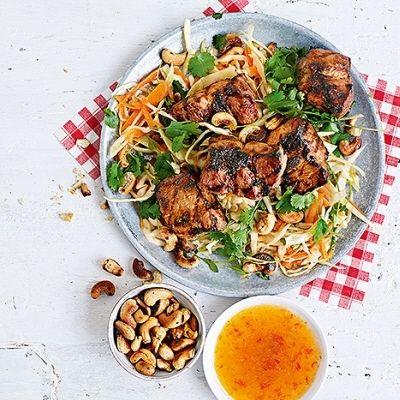 Bild på Grillad fläskkarré med asiatisk kålsallad