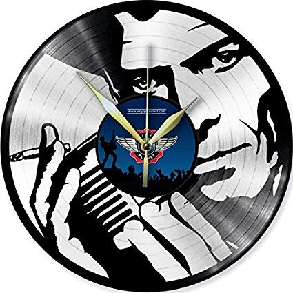 Vinyl Wall Clock DAVID BOWIE 7