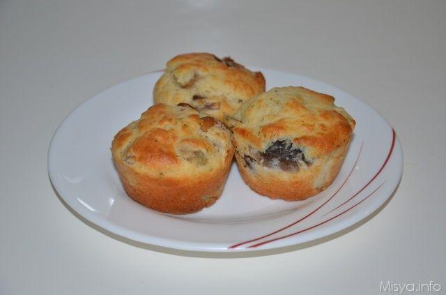 Muffin salati ai funghi, scopri la ricetta: http://www.misya.info/2012/03/02/muffin-salati-ai-funghi.htm