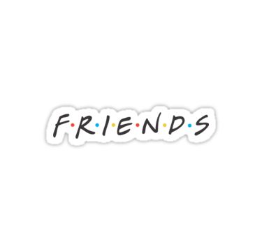 Friends Logo | Sticker