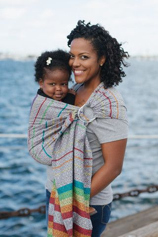 TULA Baby Carriers | Tula Imagine Dawn | Tula Woven Wrap Conversion Ring Sling