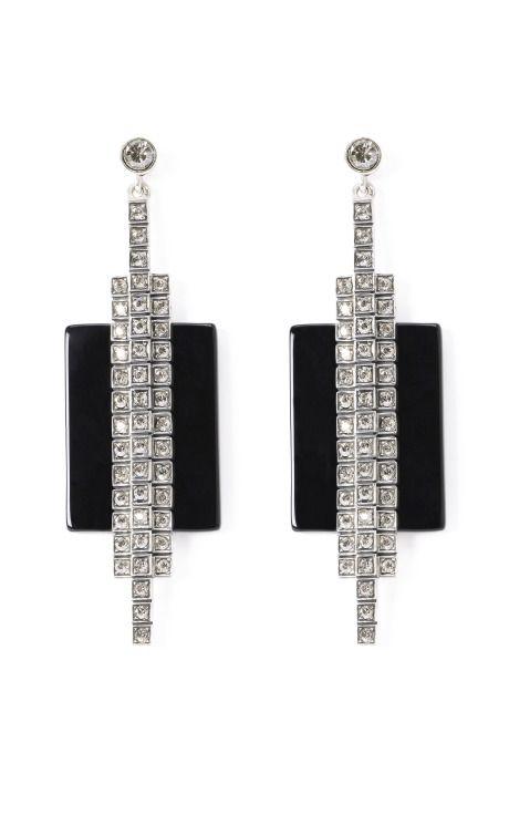 CA&LOU Onyx Earrings