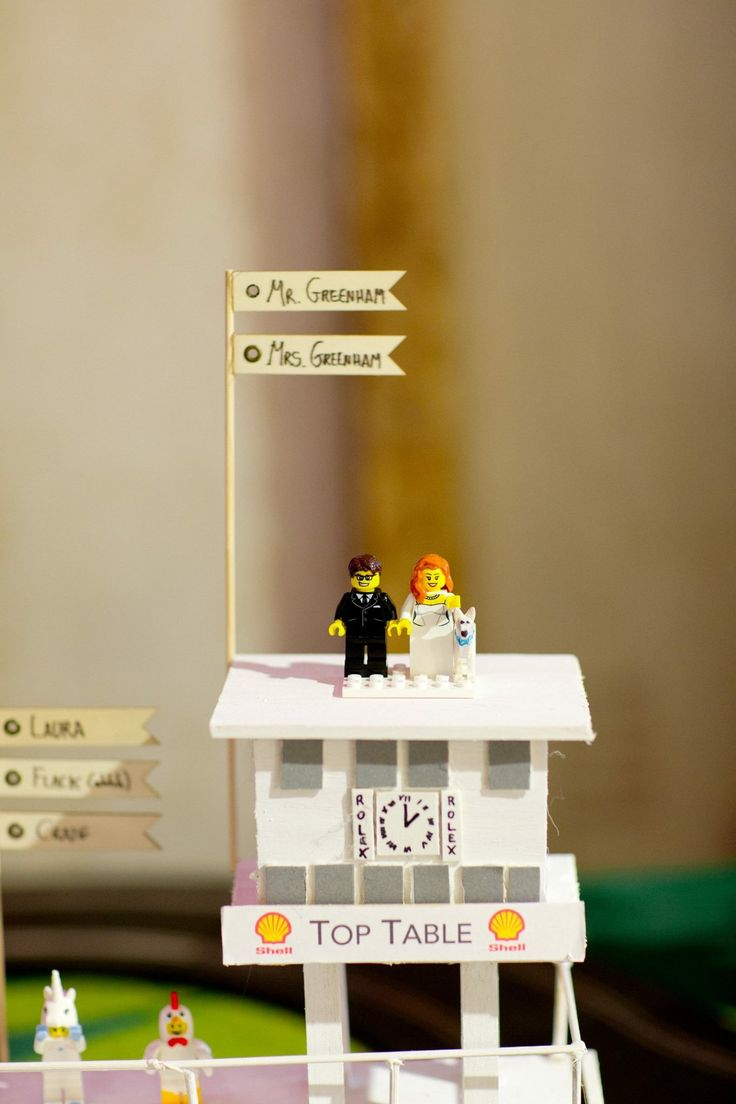 Lego table plan for wedding. Unusual table plan ideas