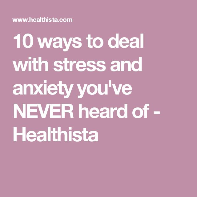 Best 25 How To Treat Anxiety Ideas On Pinterest