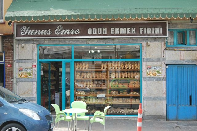 Bakery and cafe in Istabul, Turkey