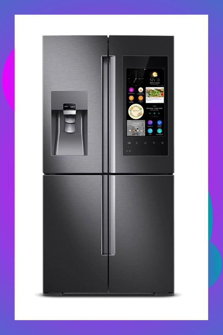 Smart Tech Home Appliances Refrigerator, Stainless steel