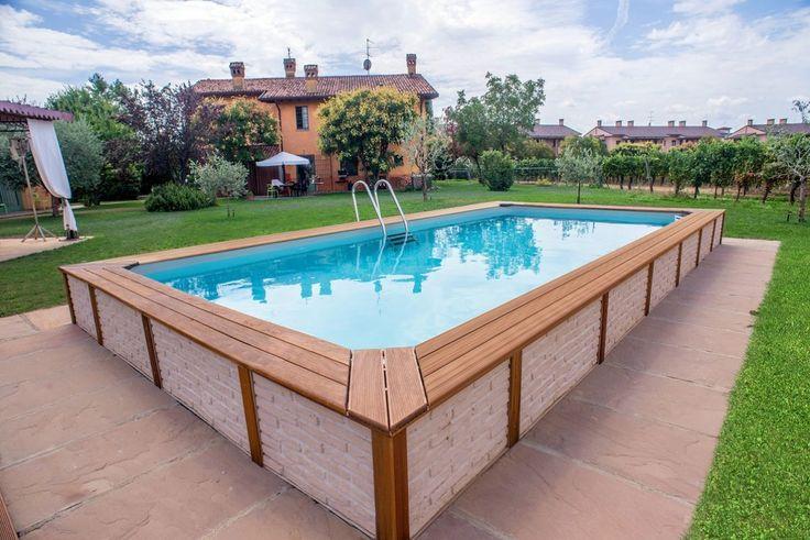 Oltre 25 fantastiche idee su piscine fuori terra su - Piscine fuori terra costi ...
