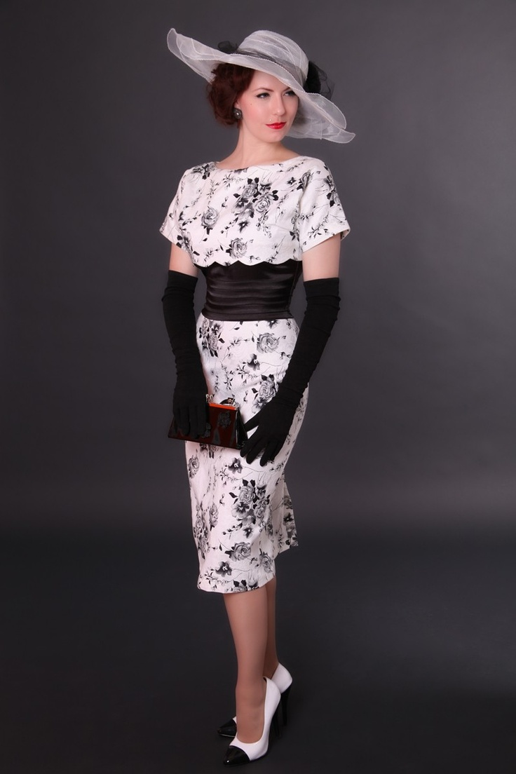 Vail 40's style dress | Bettie Page Clothing - I <3 everything about this outfit!