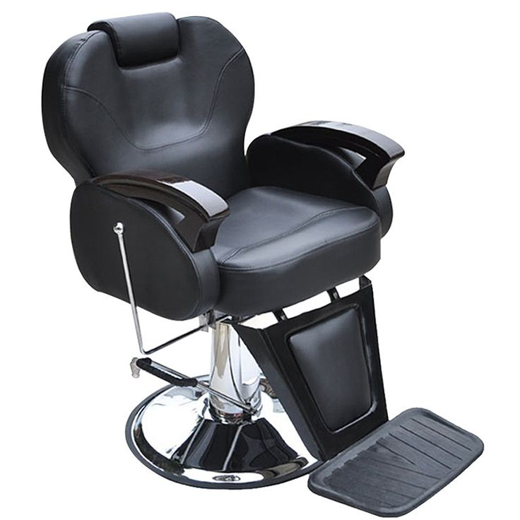 shellhard noir chaise de salon de coiffure hydraulique fauteuil inclinable de coiffure styling. Black Bedroom Furniture Sets. Home Design Ideas