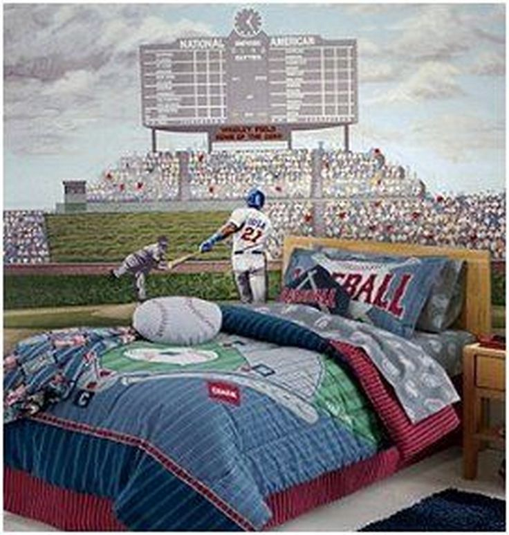 Best 20+ Baseball Theme Bedrooms Ideas On Pinterest