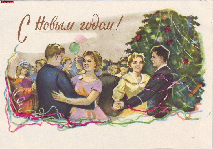 image(40116)_советские_новогодние_открытки.jpg (1737×1220)