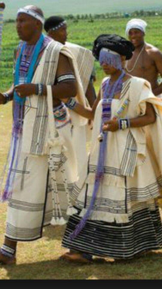 Hrh S Of The Thembu Mandla And Nodayimani People