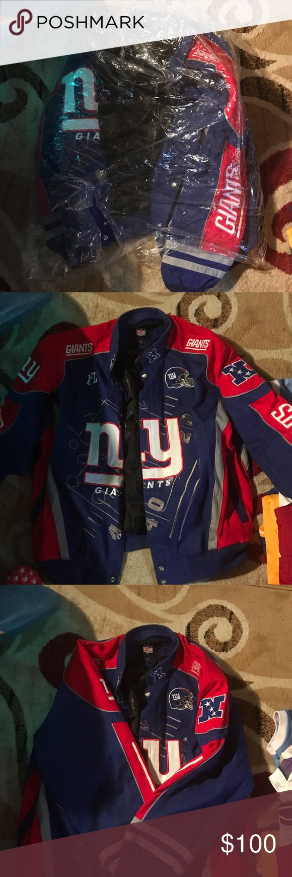 Football jacket Slightly worn, but still in excellent condition NFL Jacket Jackets & Coats Bomber & Varsity