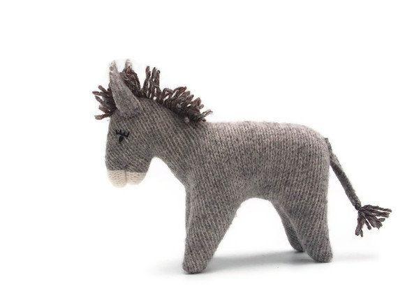 Donkey by EvesLittleEarthlings on EtsyKnits Donkeys, Kids Stuff, Http Findgoodstoday Com Toys, Etsy Brooks, Http Findanswerhere Com Toys
