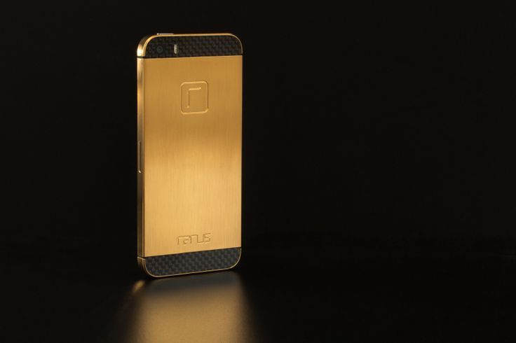 Rarus iPhone 5S luxury 24k gold and carbon