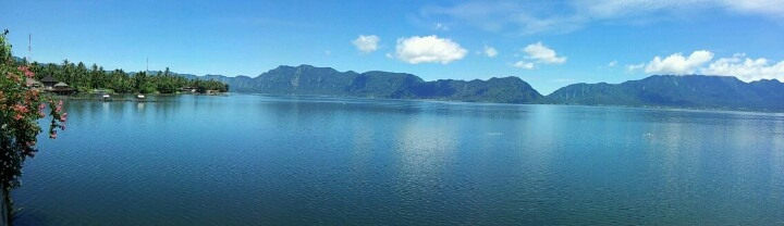 Danau atas bawah.. West Sumatra