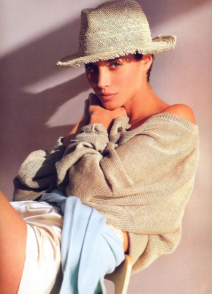 ☆ Christy Turlington | Photography by Brigitte Lacombe | For Mirabella Magazine | June 1990