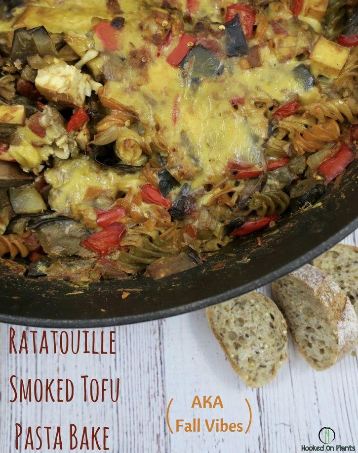 Ratatouille Smoked Tofu Pasta Bake | Vegan Thanksgiving