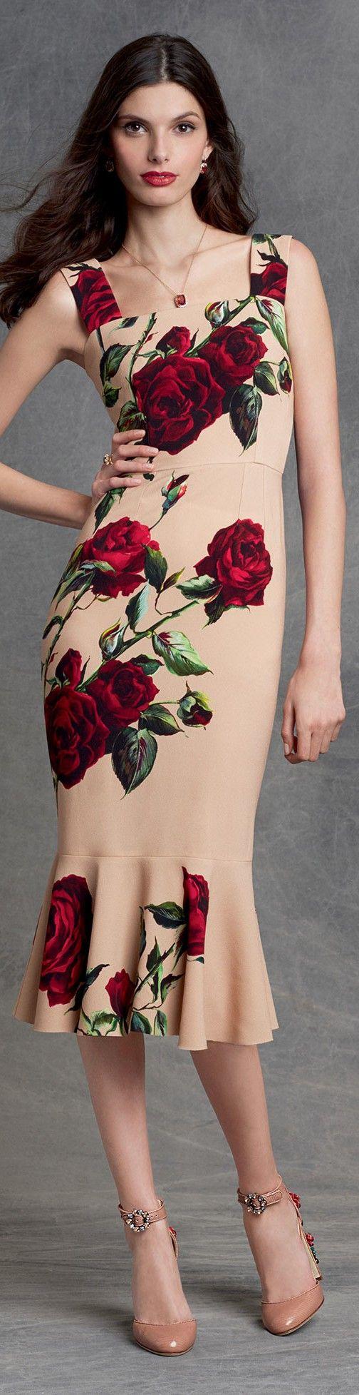 I will wear a Dolce and Gabbana dress