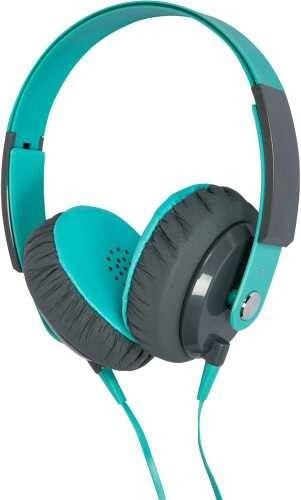 Kiba Colorful Stereo Headphone KD-500 Turquoise/Blue