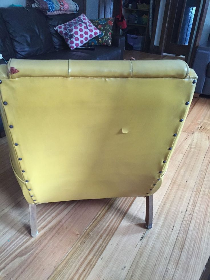 ART Deco Chair Sleepy Hollow This Chair Is A Great Colour. Sunshine Yellow,  In