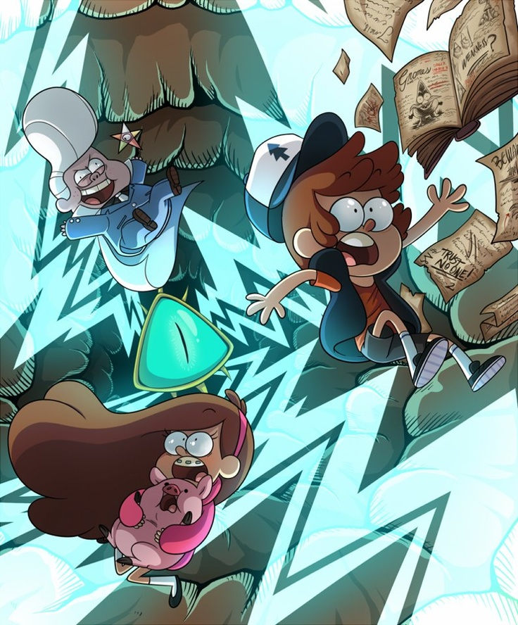 Gideon, Dipper, Mabel and Waddles.......you fell into Gideons evil plan!