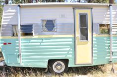 DIY Vintage Trailer Reveal!~You have to check out all the interior pics...just beautiful :)
