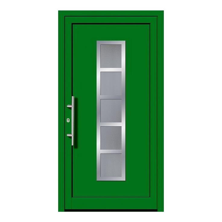 Haustür Grün
