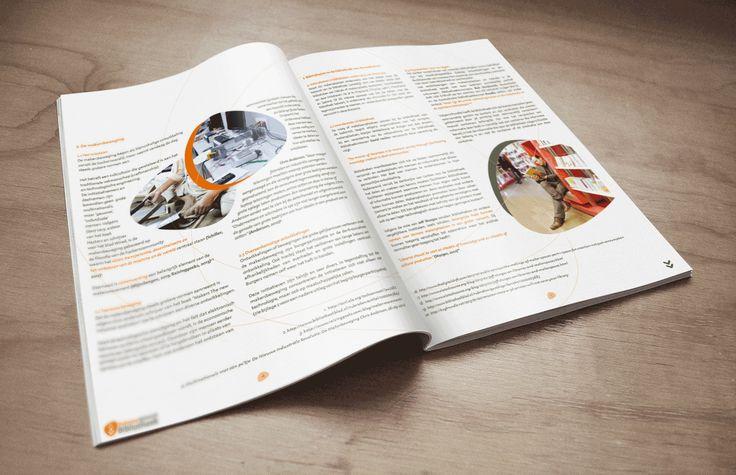 Brabantse Netwerk Bibliotheek. Naar aanleiding van het congres 'The Makers Library' is de publicatie Makersplaatsen verspreid. (Designed by Gloed)