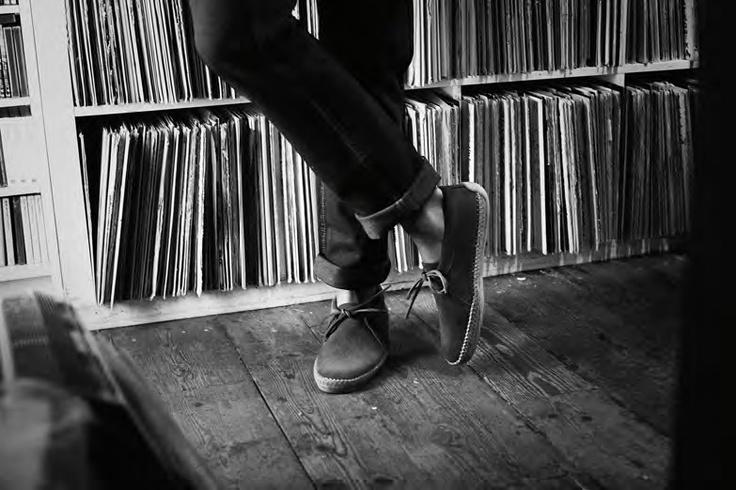 Edmund Valley Herrenhalbschuhe -  klassischer Loafer für Herren mit echter Kreppsohle von Clarks. #FS13
