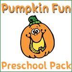 Pumpkin preschool pack - 1+1+1=1