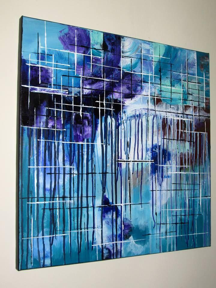 IMAGINATION 1 Mod de realizare : acryilic pe panza Dimensiune : 60 x 60 x 2 cm Lucrare disponibila Artwork available