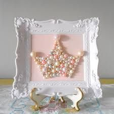 princess room-diy pearl tiara                                                                                                                                                                                 More