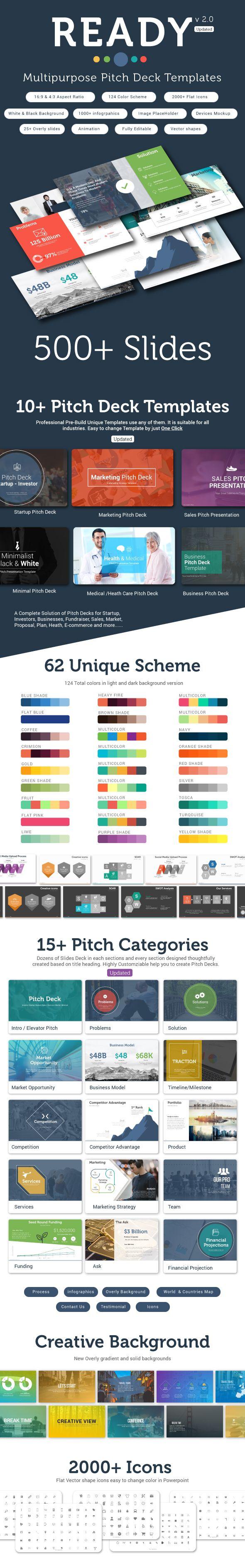 Best PowerPoint Templates Images On Pinterest Font Logo - Awesome slide deck templates scheme