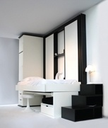 Spacedormer Etude: An all-in-one bedroom, study and lounge area